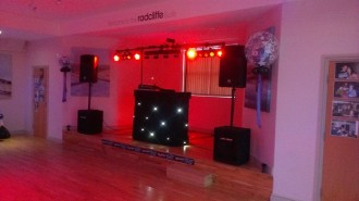 All set up for a 50th party
